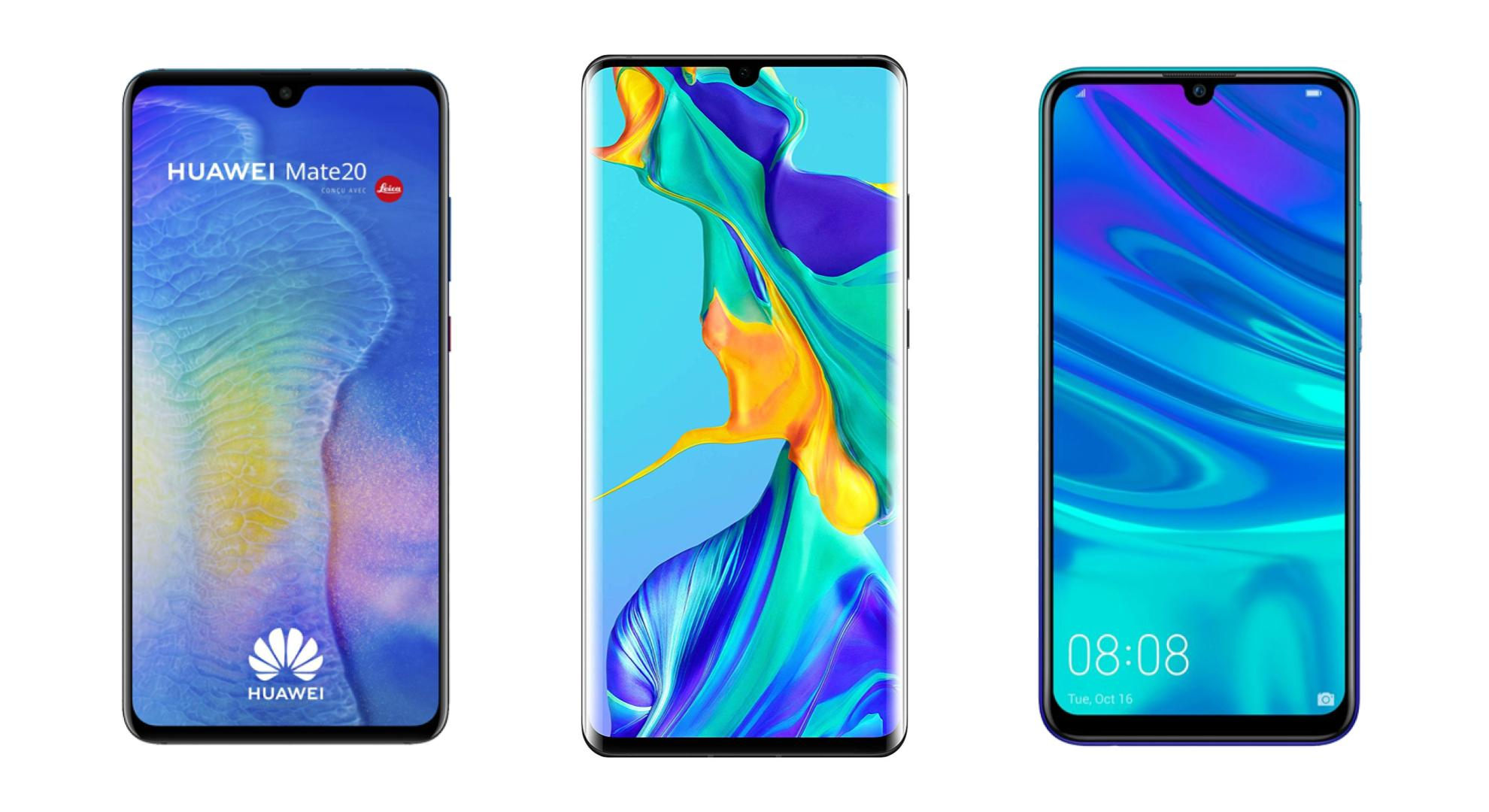 smartphone huawei : Comment choisir + comparatif complet